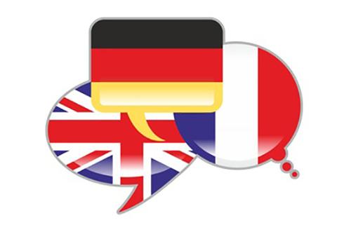 Länderflaggen England Frankreich Deutschland