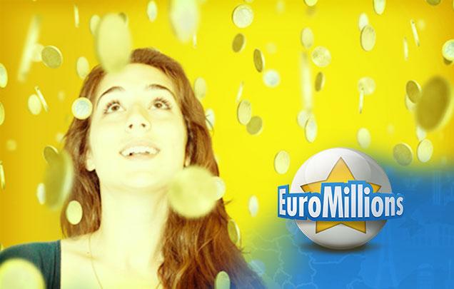 Frau erlebt Geldregen bei den EuroMillions