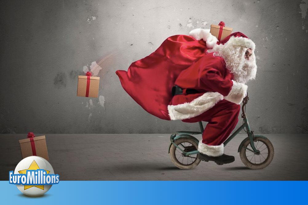 Mit den EuroMillions werden Weihnachtsträume wahr!