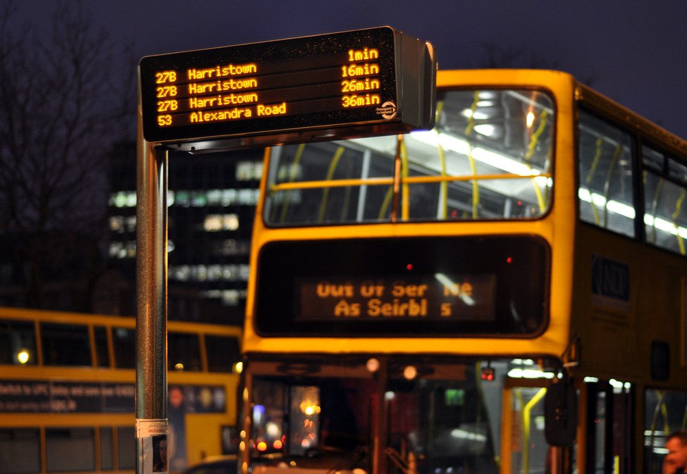 "Dublin Bus - ""Out Of Service"""