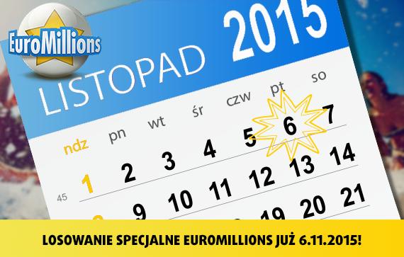 EuroMillions Superdraw 2015